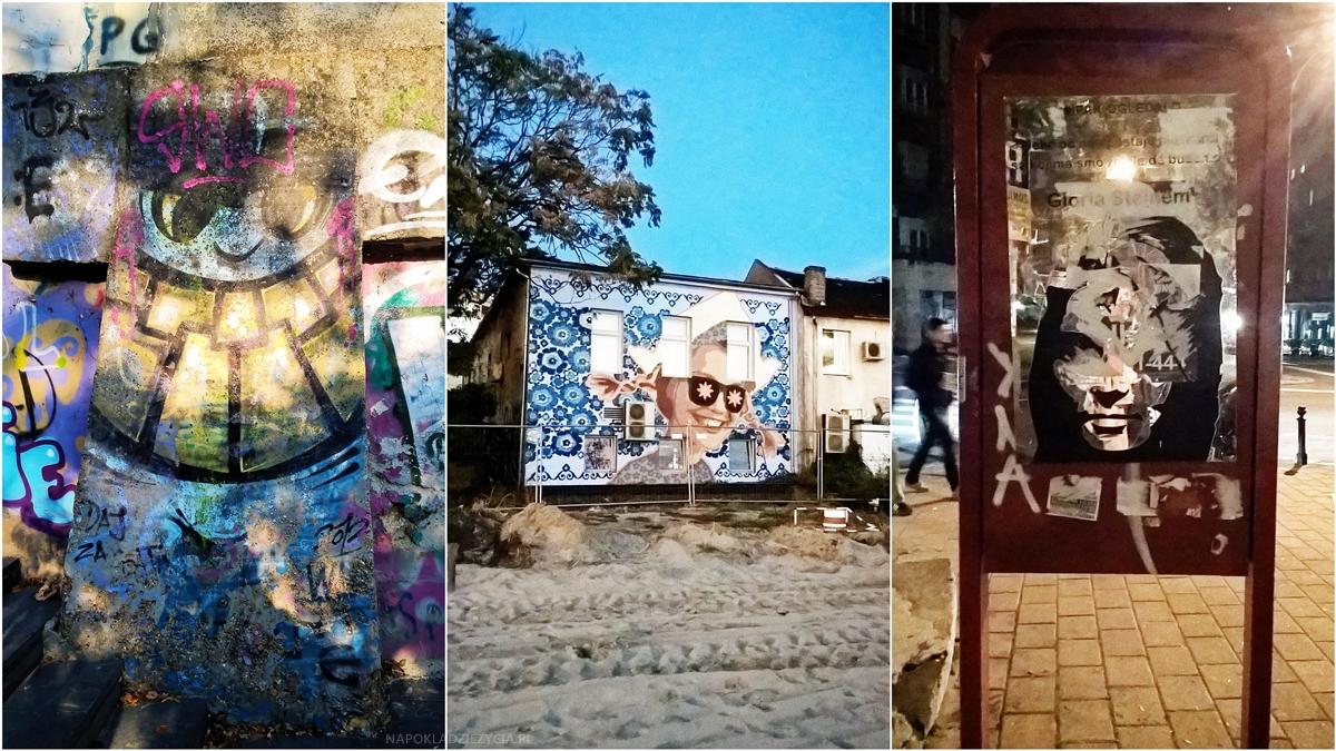 co zobaczyć Belgrad murale