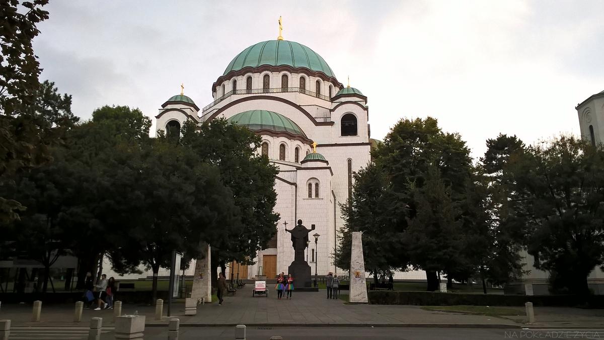 Co zobaczyć w Belgradzie: cerkiew św. Sawy