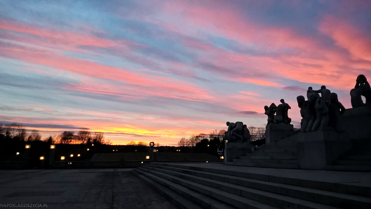 Oslo park Vigelanda