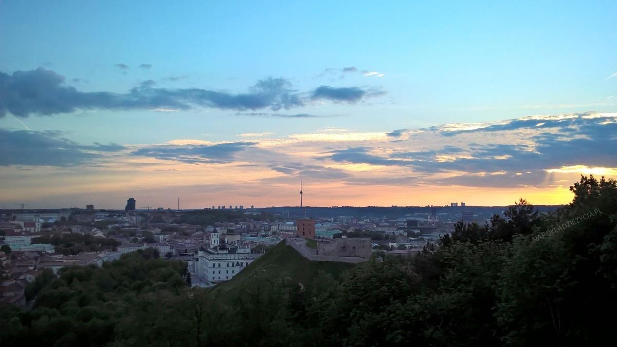 Wilno punkty widokowe: Góra Trzech Krzyży (Góra Trzykrzyska)