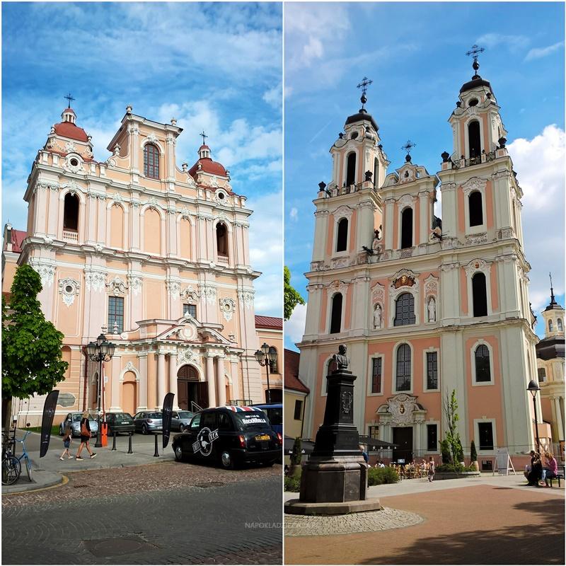 Wilno na weekend co zobaczyć: Kościół św. Kazimierza i kościół św. Katarzyny