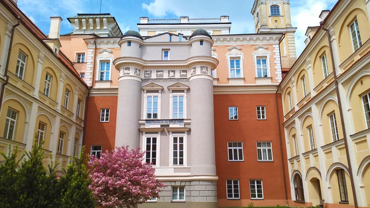Wilno na weekend, co zobaczyć: Uniwersytet Wileński