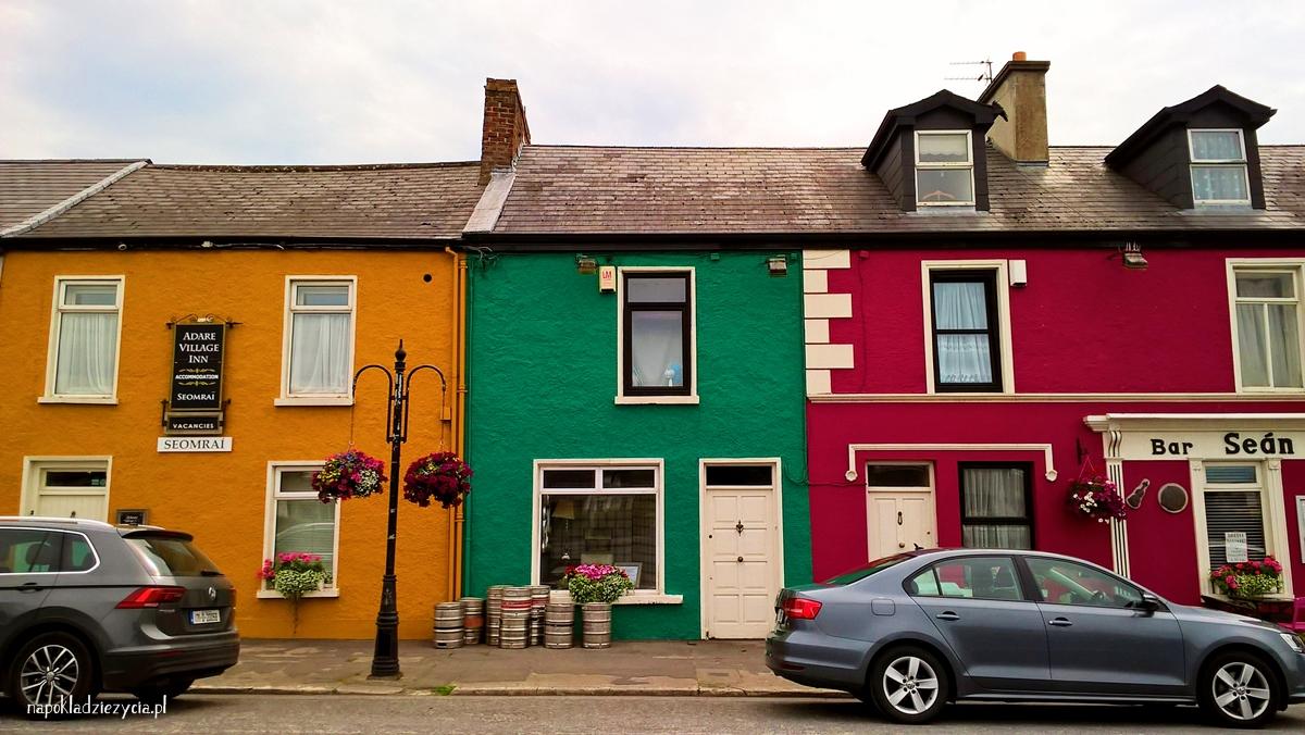 co zobaczyć w Adare w Irlandii