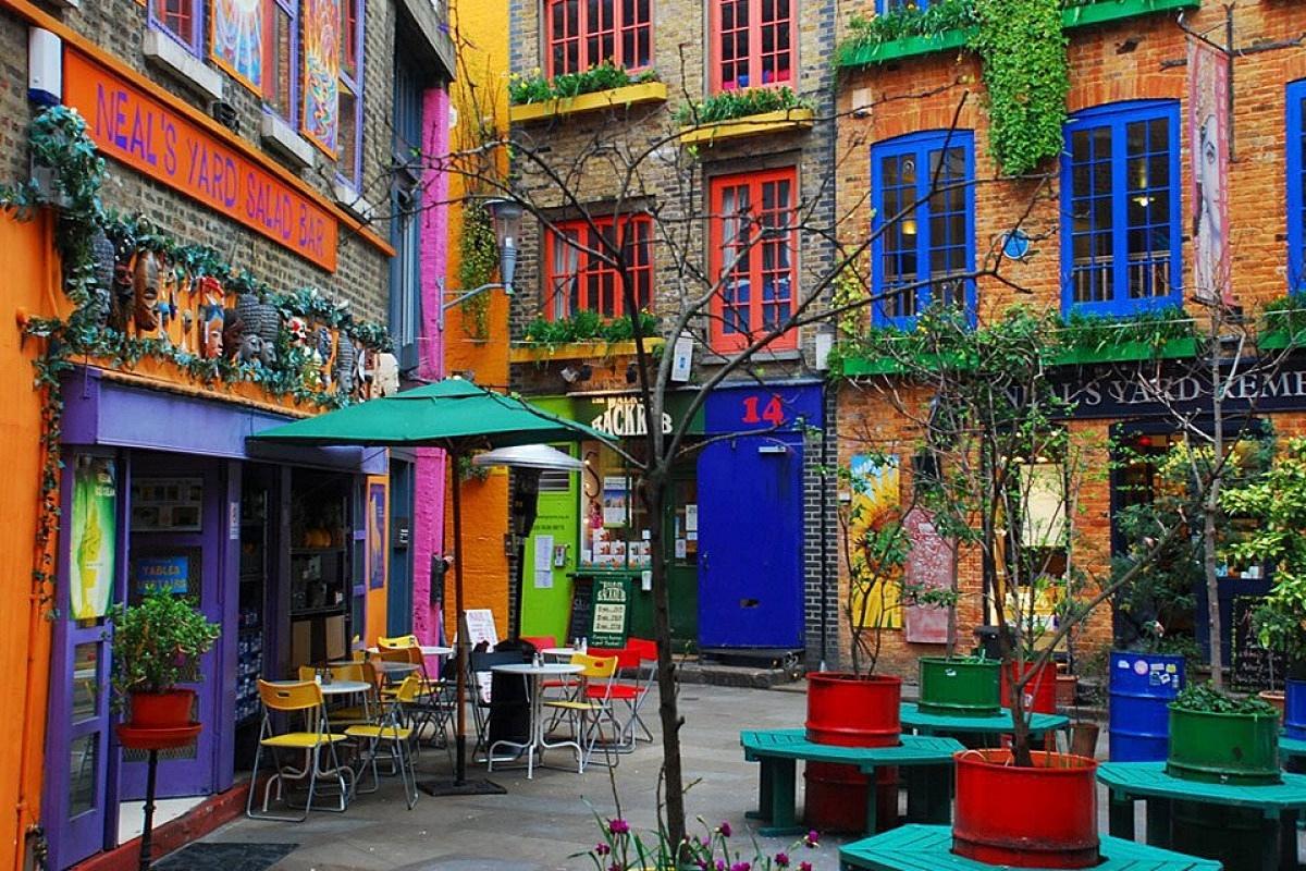 Kolorowe miejsca na świecie: Londyn