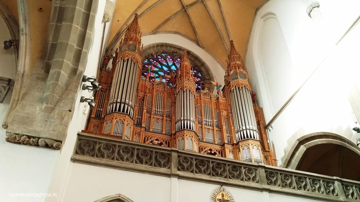 Bardejów, Słowacja: atrakcje, kościół św. Idziego