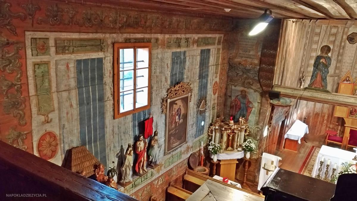 Bardejów, Słowacja: atrakcje w okolicy, Hervartov, drewniany kościół św. Franciszka z Asyżu