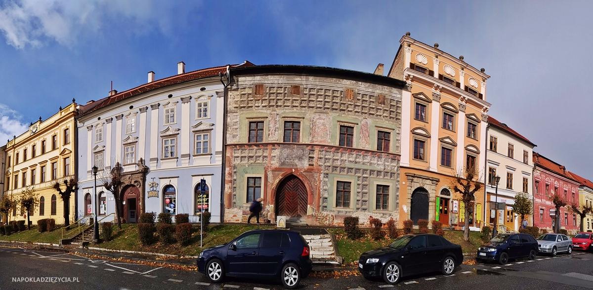Lewocza, zwiedzanie: dom Mariassych i dom Krupków