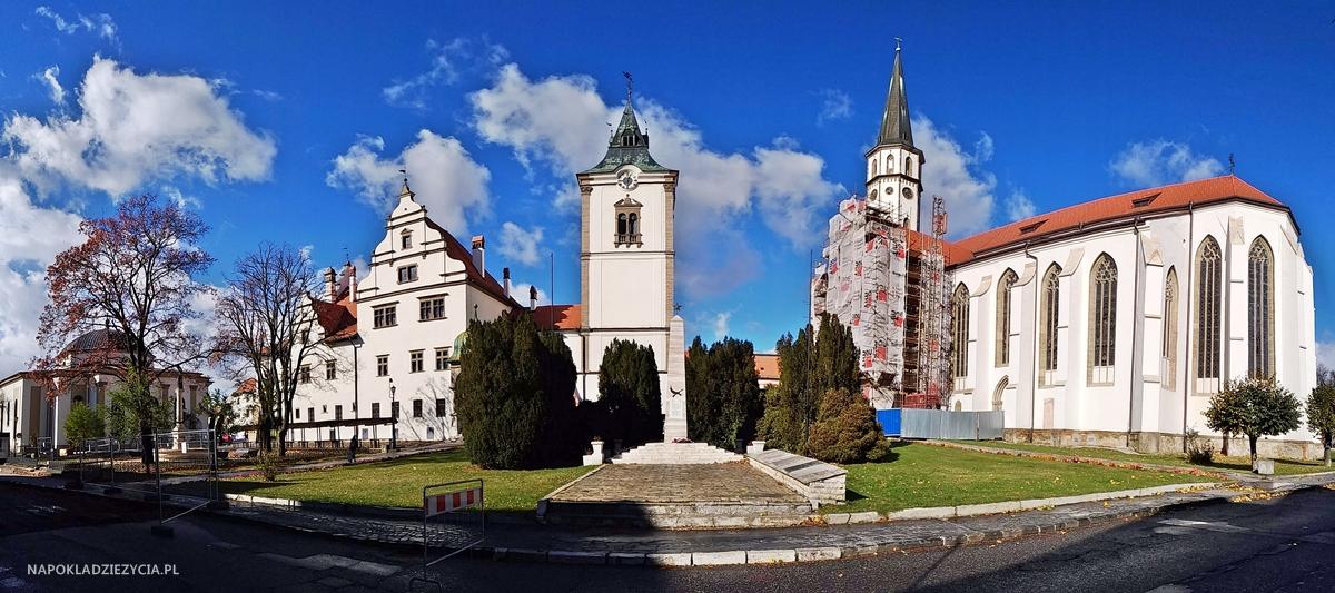 Lewocza, zwiedzanie:kościół ewangelicki, ratusz, kościół św. Jakuba
