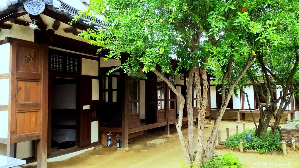 Daegu, Korea Południowa: tradycyjne domy koreańskie