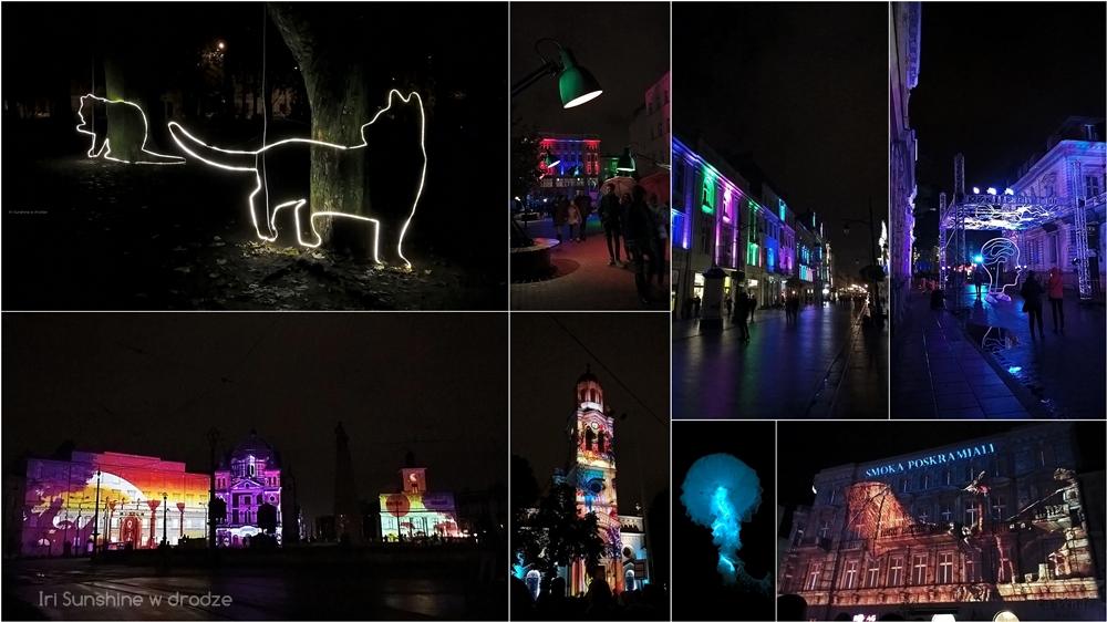 LIGHT MOVE FESTIVAL W ŁODZI: FOTORELACJA + FRAGMENTY PROJEKCJI