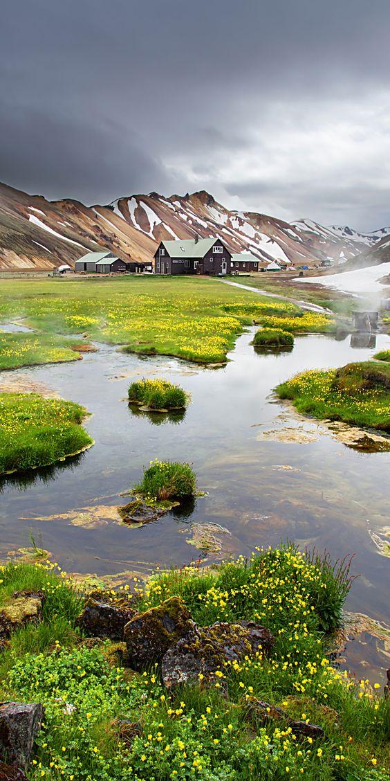5 podróżniczych celów Islandia