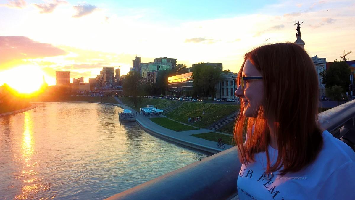 Wilno punkty widokowe: rzeka Wilia