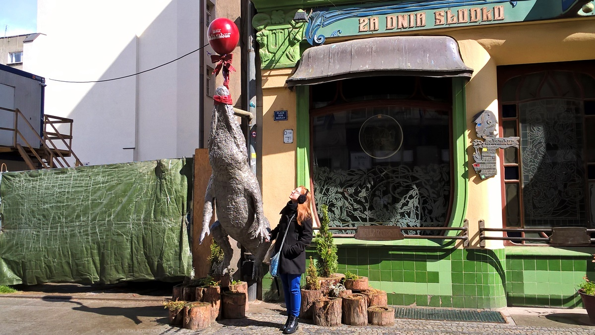 Wrocław na weekend: Krokodyl przy Ośrodku Partnerstwa Europejskiego