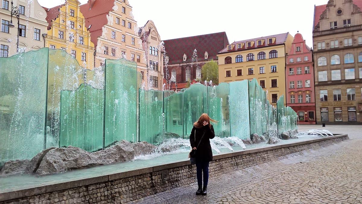 Wrocław weekend co zobaczyć Stary Rynek fontanna
