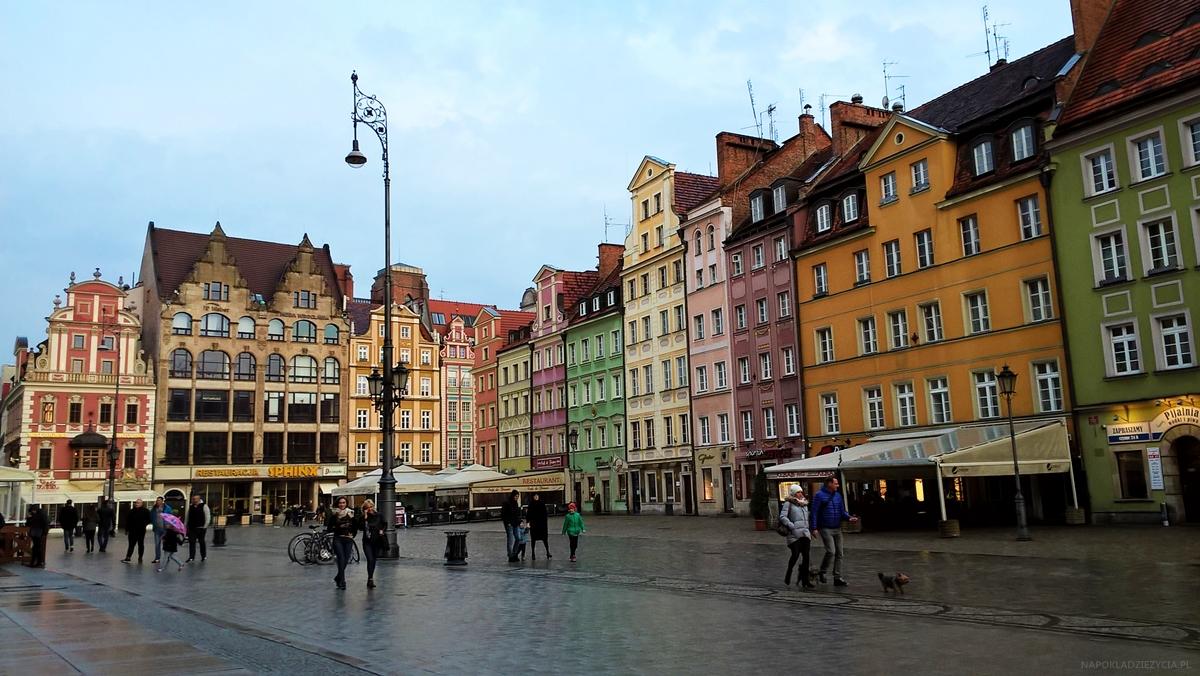 Wrocław weekend co zobaczyć Stary Rynek