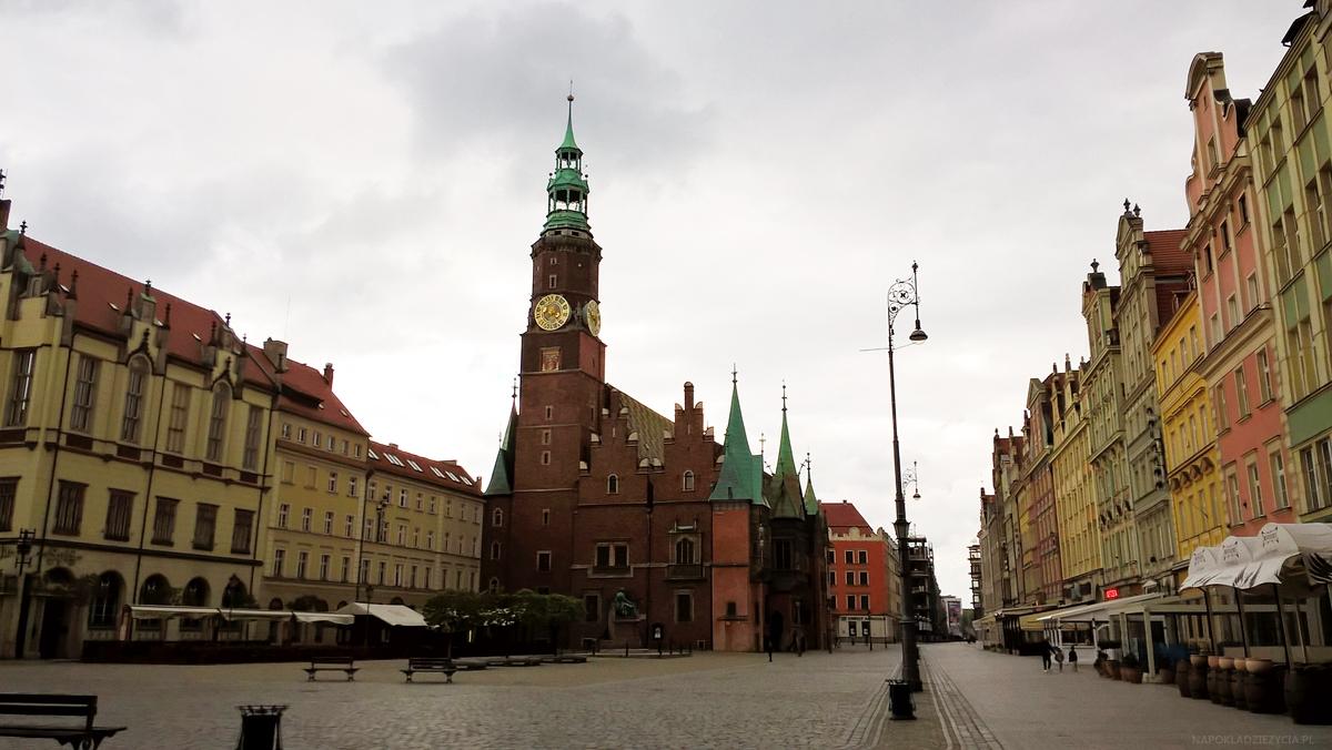 Wrocław weekend co zobaczyć Stary Rynek Ratusz