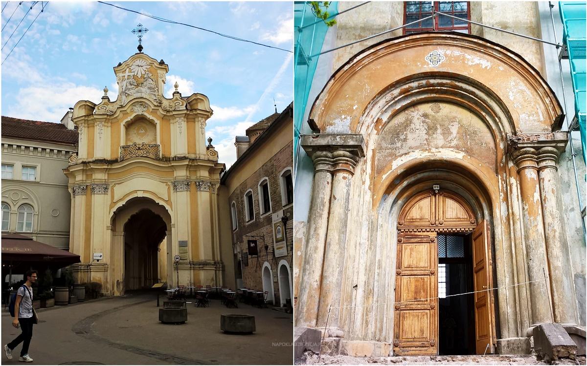 Wilno na weekend co zobaczyć: Brama Bazyliańska i Cerkiew św. Trójcy