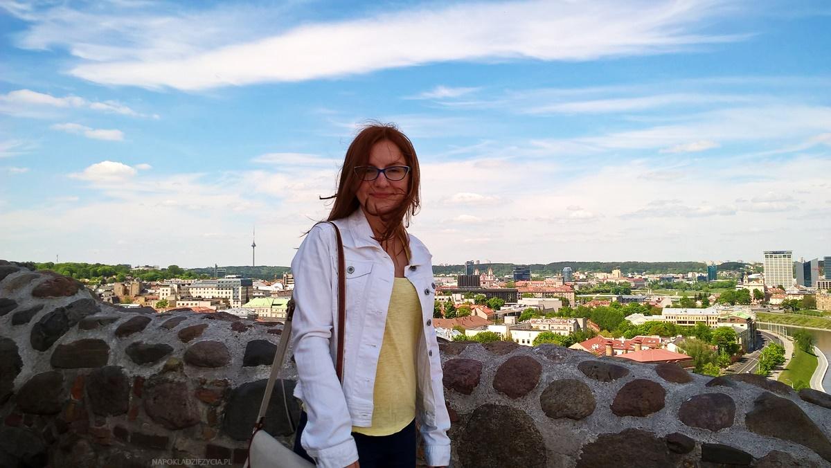 Wilno na weekend co zobaczyć: widoki na Górze Giedymina