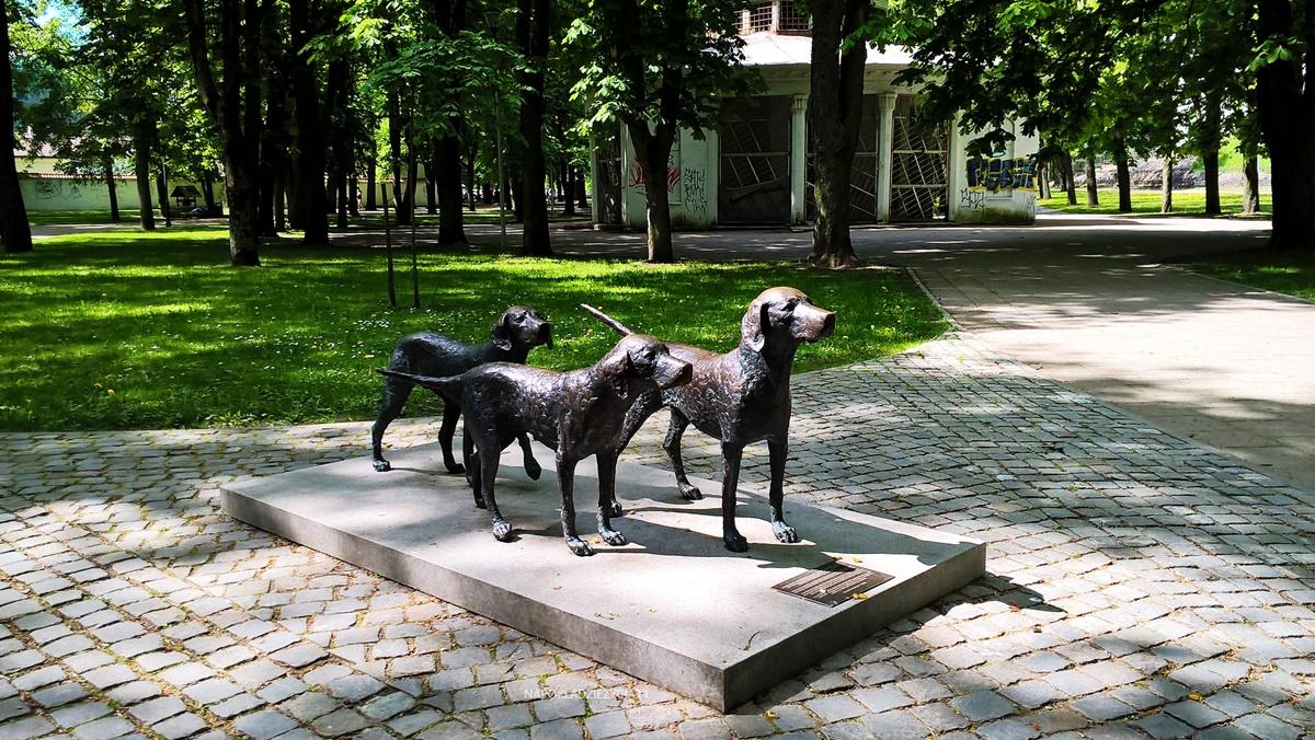 Wilno na weekend co zobaczyć: pomnik ogarów litewskich