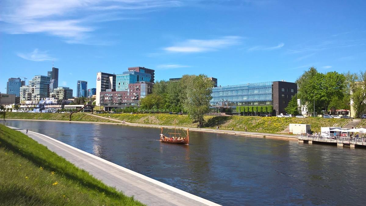 Wilno na weekend co zobaczyć: rzeka Wilia