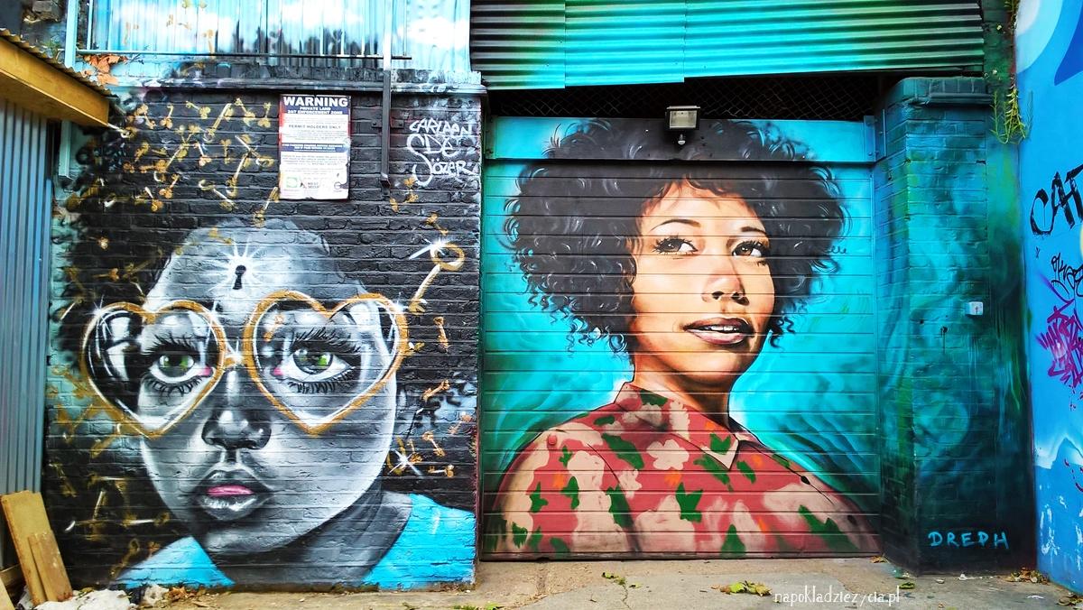 SZTUKA ULICZNA W LONDYNIE: Shoreditch i Brick Lane