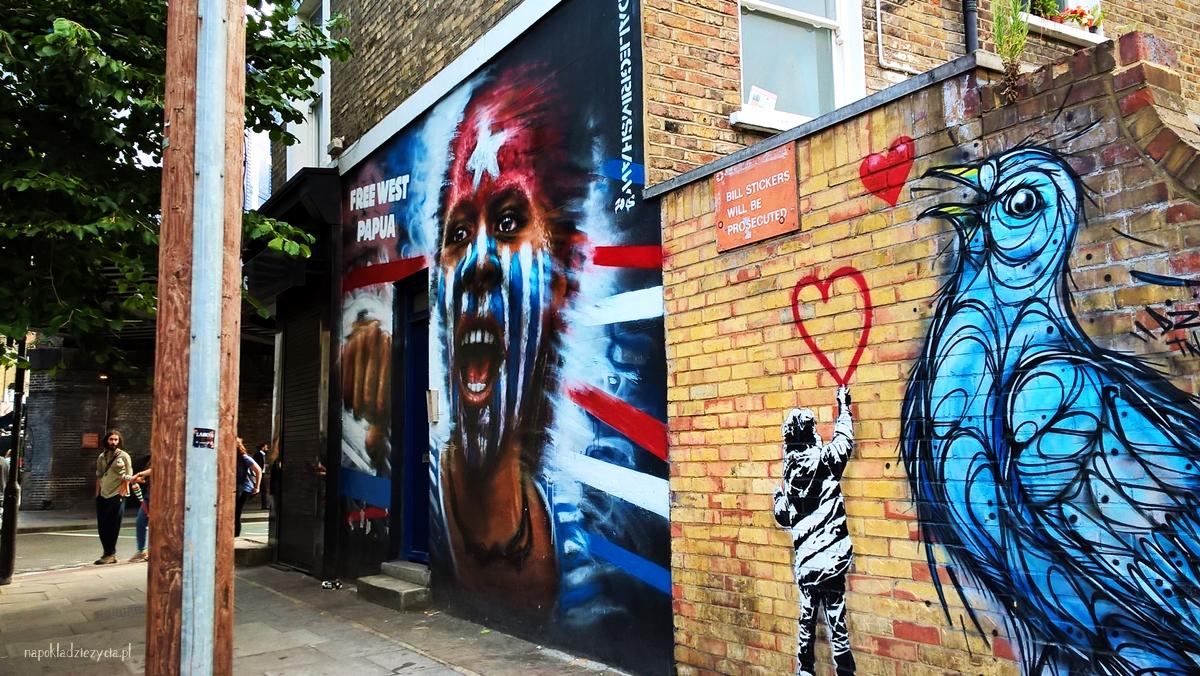 SZTUKA ULICZNA W LONDYNIE: CAMDEN TOWN