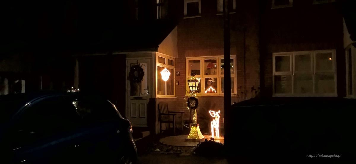 Anglia dekoracje świąteczne