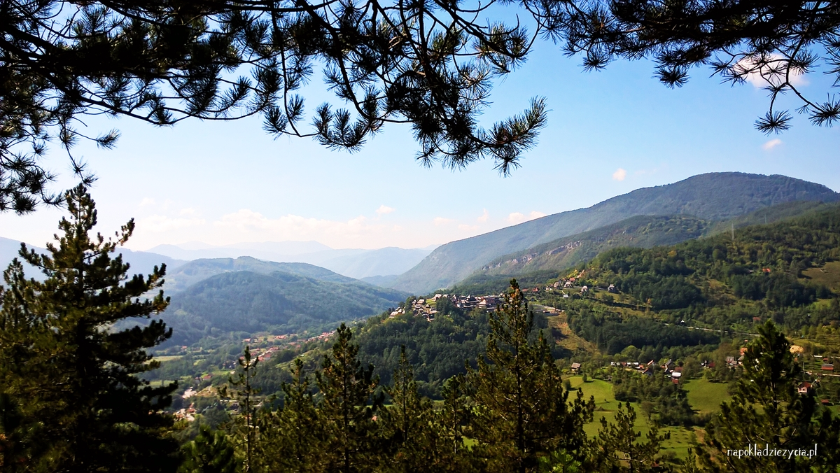 kolejka Šarganska Osmica, Mokra Gora, Serbia