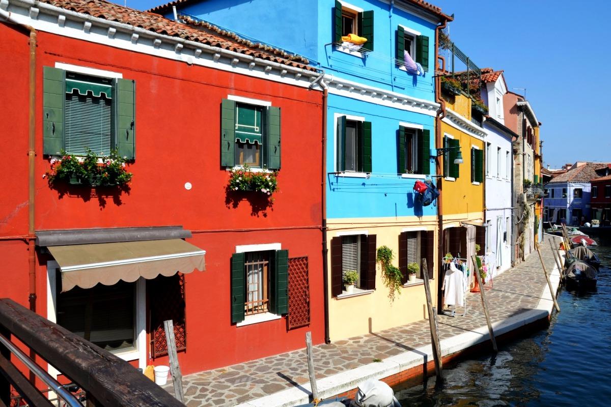 Kolorowe miejsca na świecie: Włochy