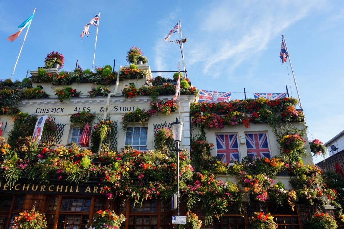 Kolorowe miejsca na świecie: Anglia