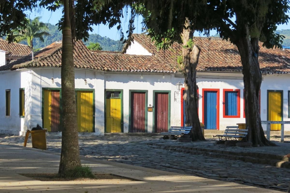 Kolorowe miejsca na świecie: Brazylia