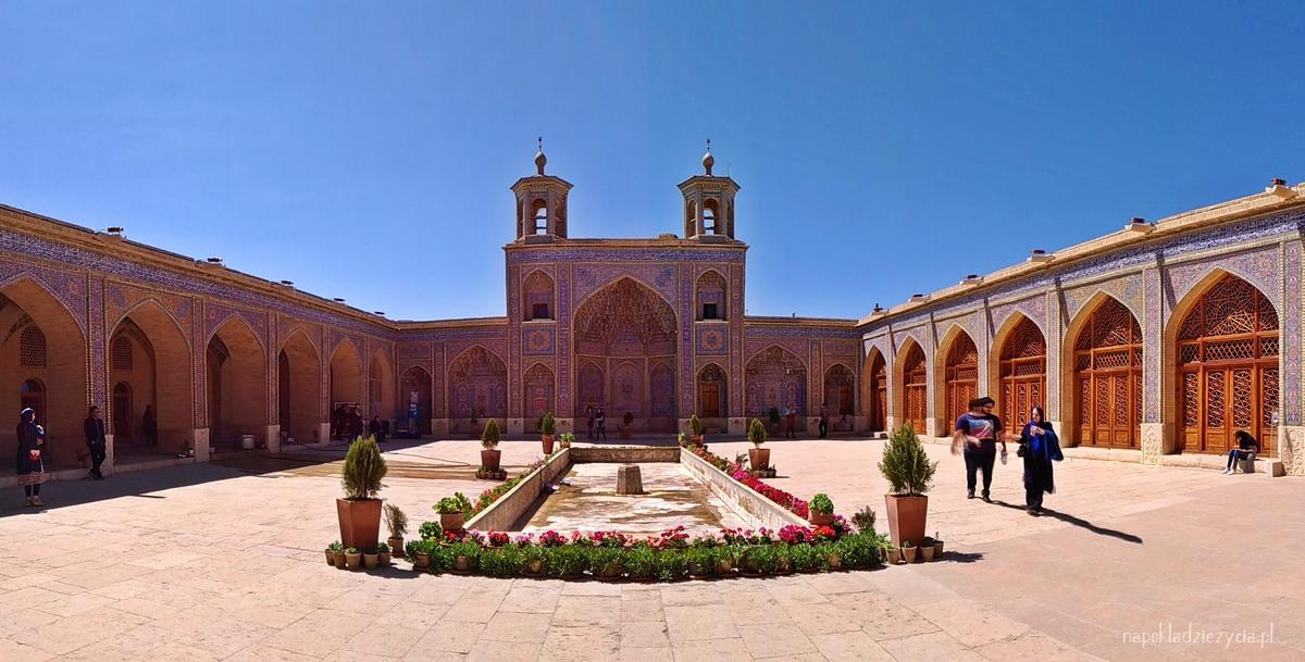 Różowy Meczet, Shiraz, Iran (atrakcje)