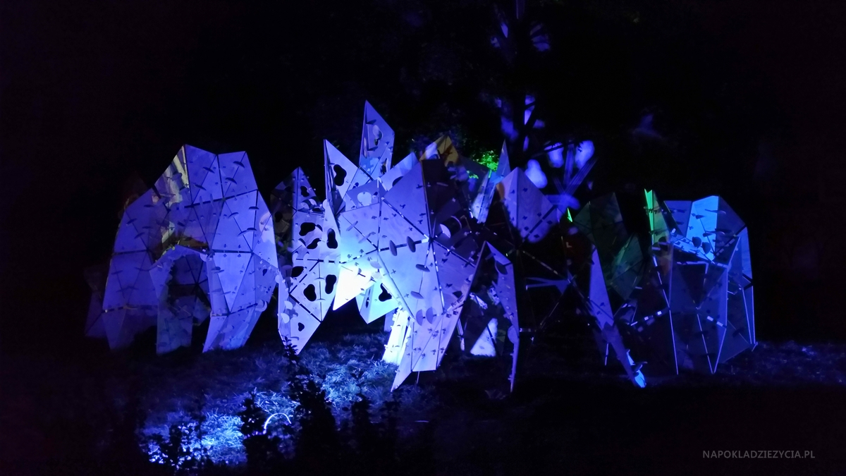 Light Move Festival 2018 w Łodzi: Zmysłogród