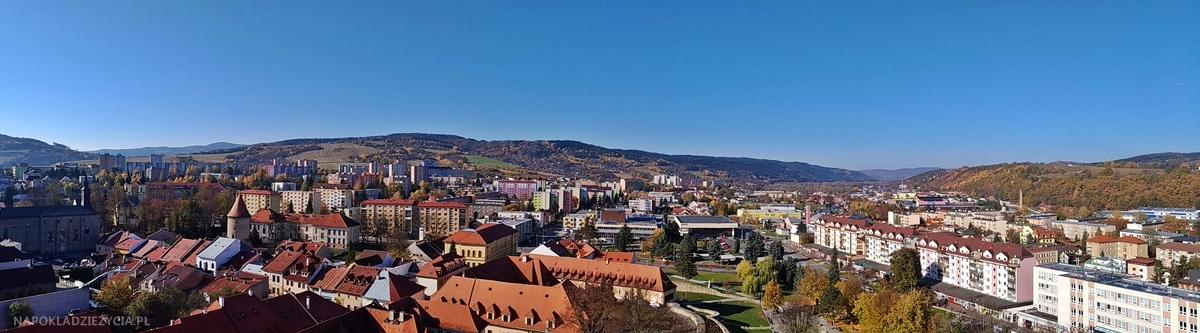 Bardejów, Słowacja: atrakcje, kościół św. Idziego, widok z dzwonnicy