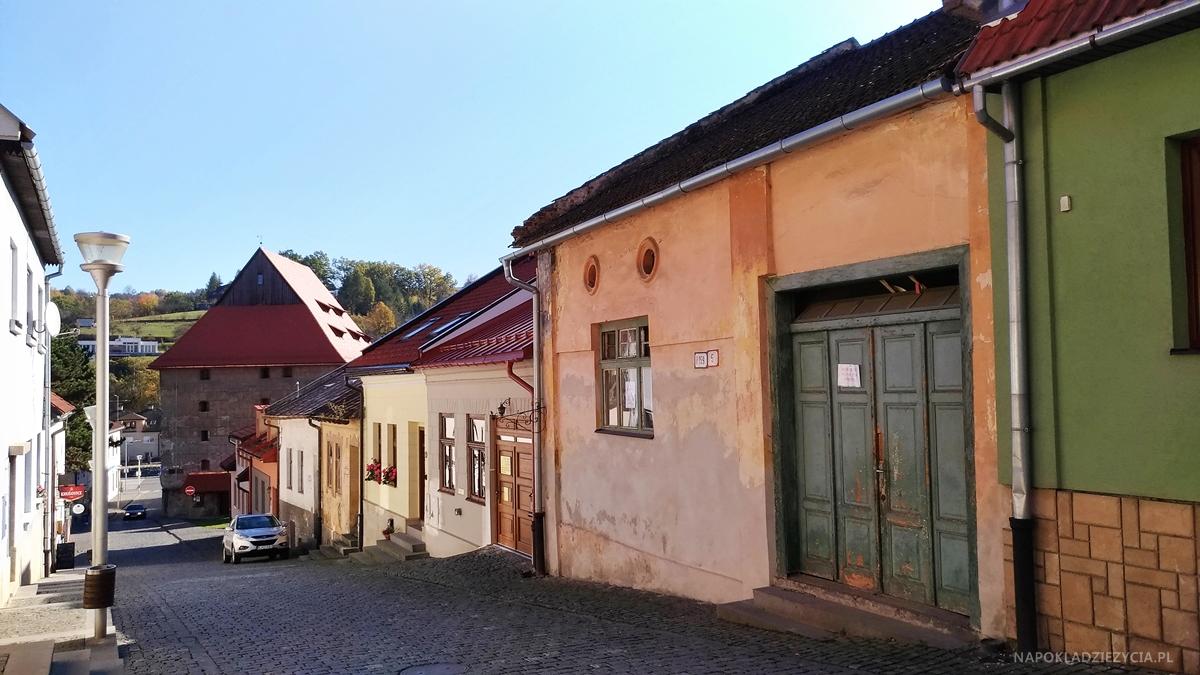 Bardejów, Słowacja: atrakcje, uliczka