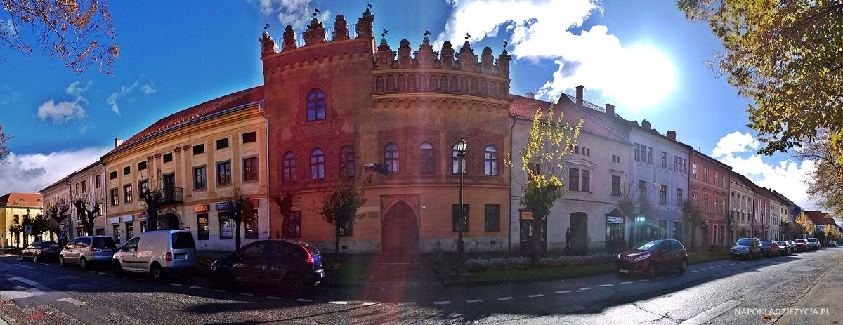 Lewocza, zwiedzanie: dom Thurzonów
