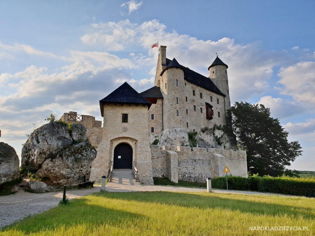 Najpiękniejsze zamki Szlaku Orlich Gniazd, trasa samochodowa: Zamek Bobolice