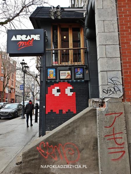 Sztuka uliczna w Montrealu