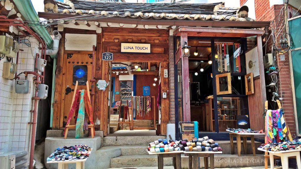 Seul atrakcje BUKCHON HANOK VILLAGE