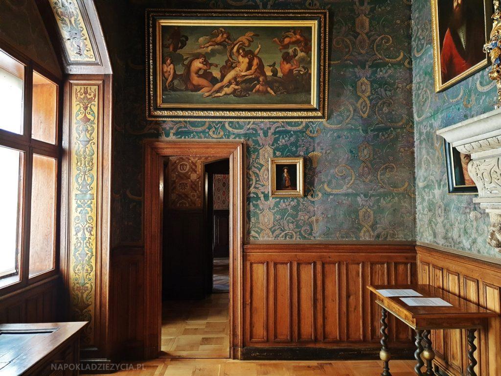 Zamek w Gołuchowie: sala portretu staropolskiego