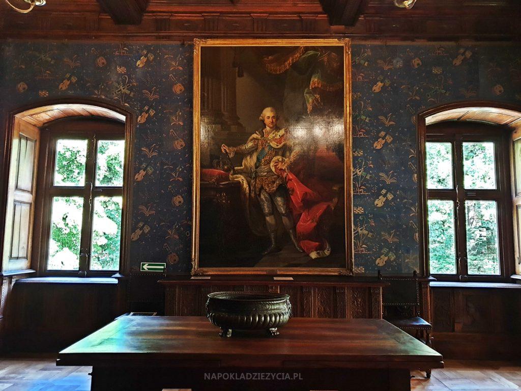 Zamek w Gołuchowie: sala stołowa