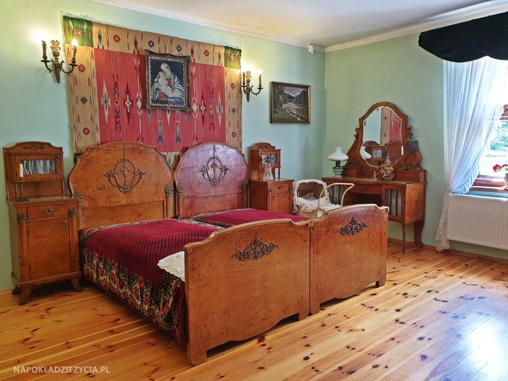 Dworek Marii Dąbrowskiej w Russowie: sypialnia