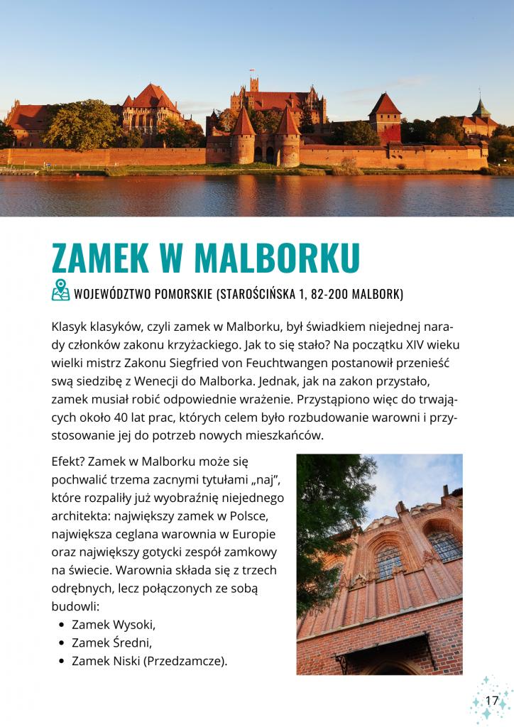 Zamki w Polsce: przewodnik przygodowy